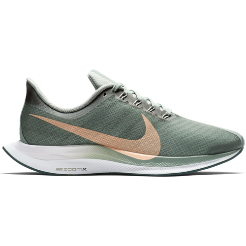 Women's Zoom Pegasus 35 Turbo Running Shoe - Mica Green/Light Silver/Crimson Tint