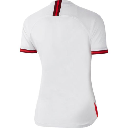 Women's England 2019 Home Stadium Jersey - White Challenge Red