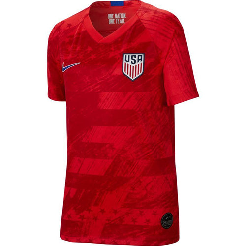 Youth USA 2019/20 Away Stadium Jersey - Red