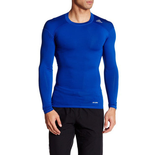 Men's Techfit Long Sleeve Top - Collegiate Royal