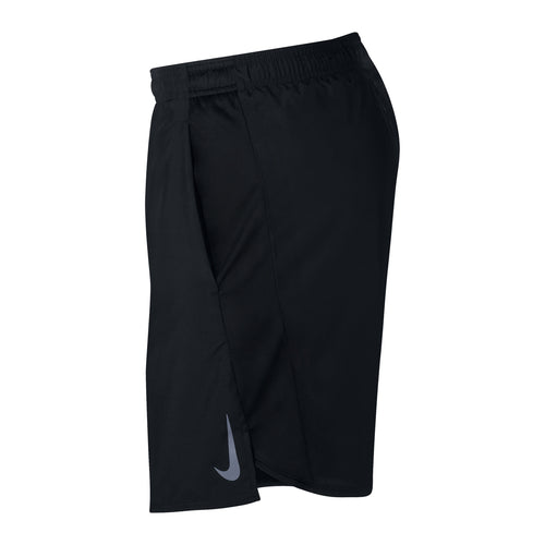 "Men's Challanger 7"" Short - Black/Reflective Silver"