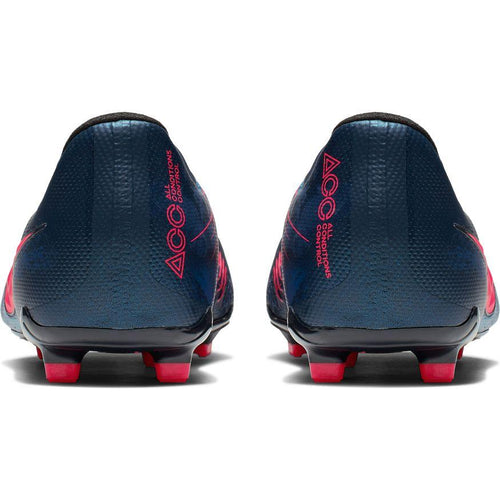 Jr Phantom Venom Elite FG Soccer Cleat - Obsidian/White/Black