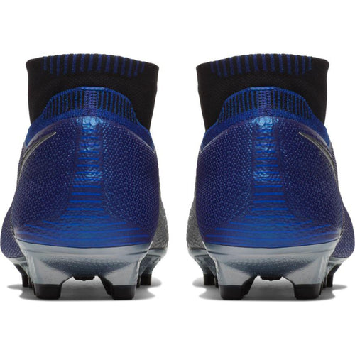 Phantom Vision Elite Dynamic Fit Firm Ground Soccer Cleat - Racer Blue/Metallic Silver/Black/Volt