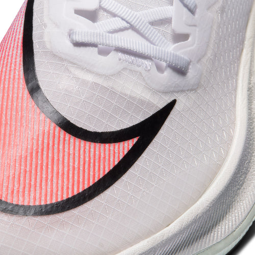 Unisex ZoomX Vaporfly Next% Running Shoe - White/Flash Crimson-Black-Hyper Jade