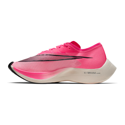 ZoomX Vaporfly Next% Running Shoe - Pink Blast/Black/Guava Ice