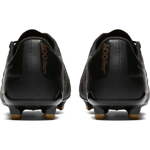 Men's Phantom Venom Elite FG Soccer Cleat - Black/Metallic Vivid Gold