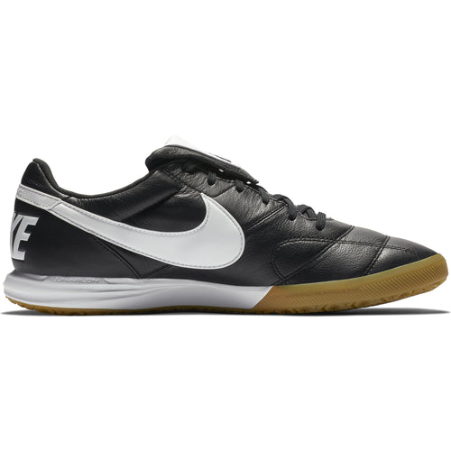 Men's Premier II IC Soccer Cleat - Black/White