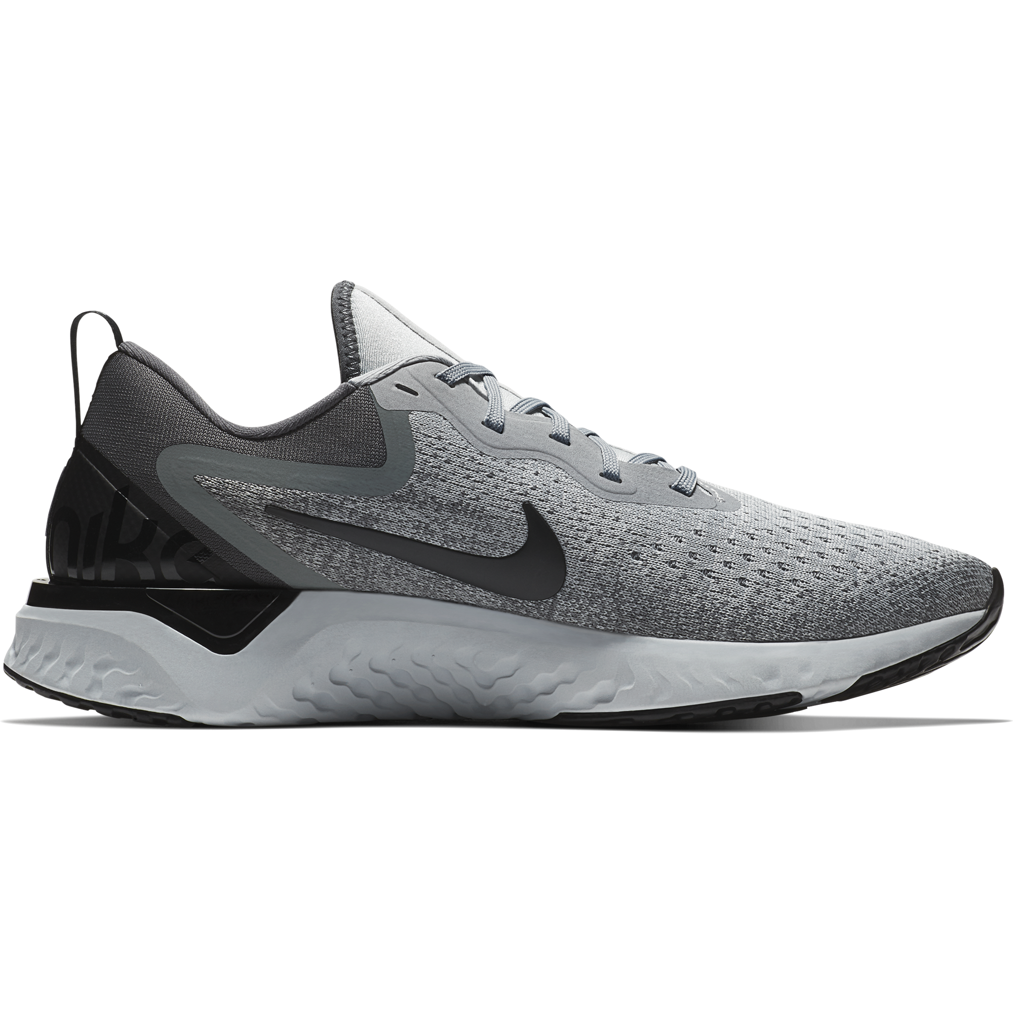 faadc944bdda1 Men s Odyssey React Running Shoe - Wolf Grey Black Dark Grey Pure Plat –  Gazelle Sports