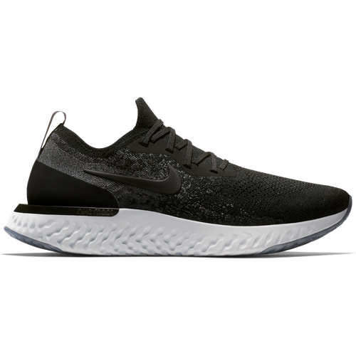 Men's Epic React Flyknit Running Shoe - Black/Black/Dark Grey/Pure Platinum