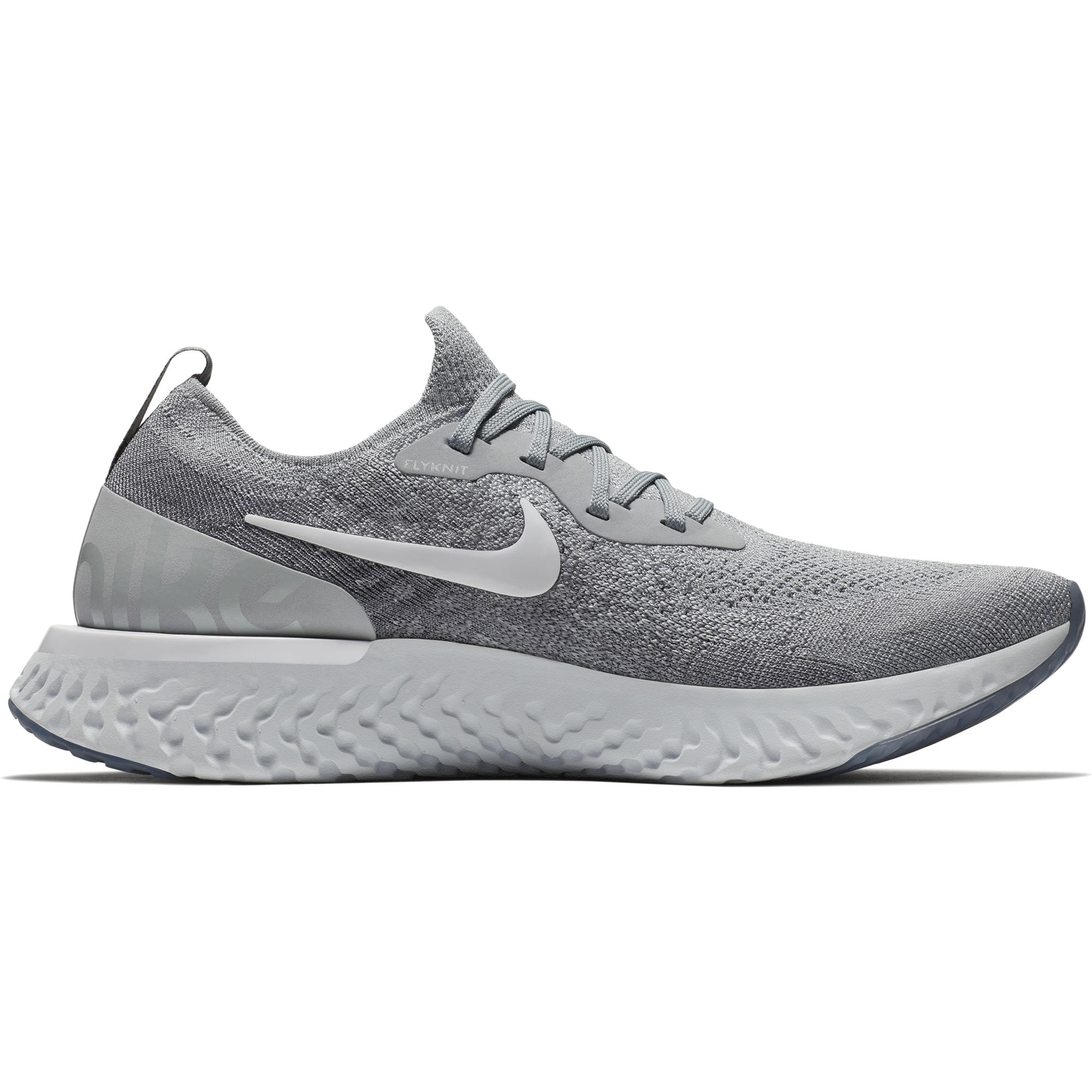 separation shoes 1c63b 28de9 ... Men s Epic React Flyknit Running Shoe - Wolf Grey White Cool Grey Pure  ...