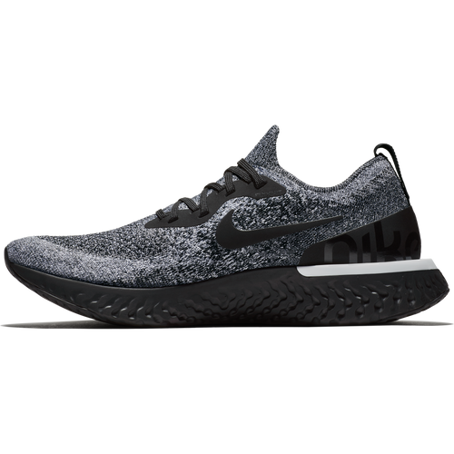 Men's Epic React Flyknit Running Shoe - Black/Black/White