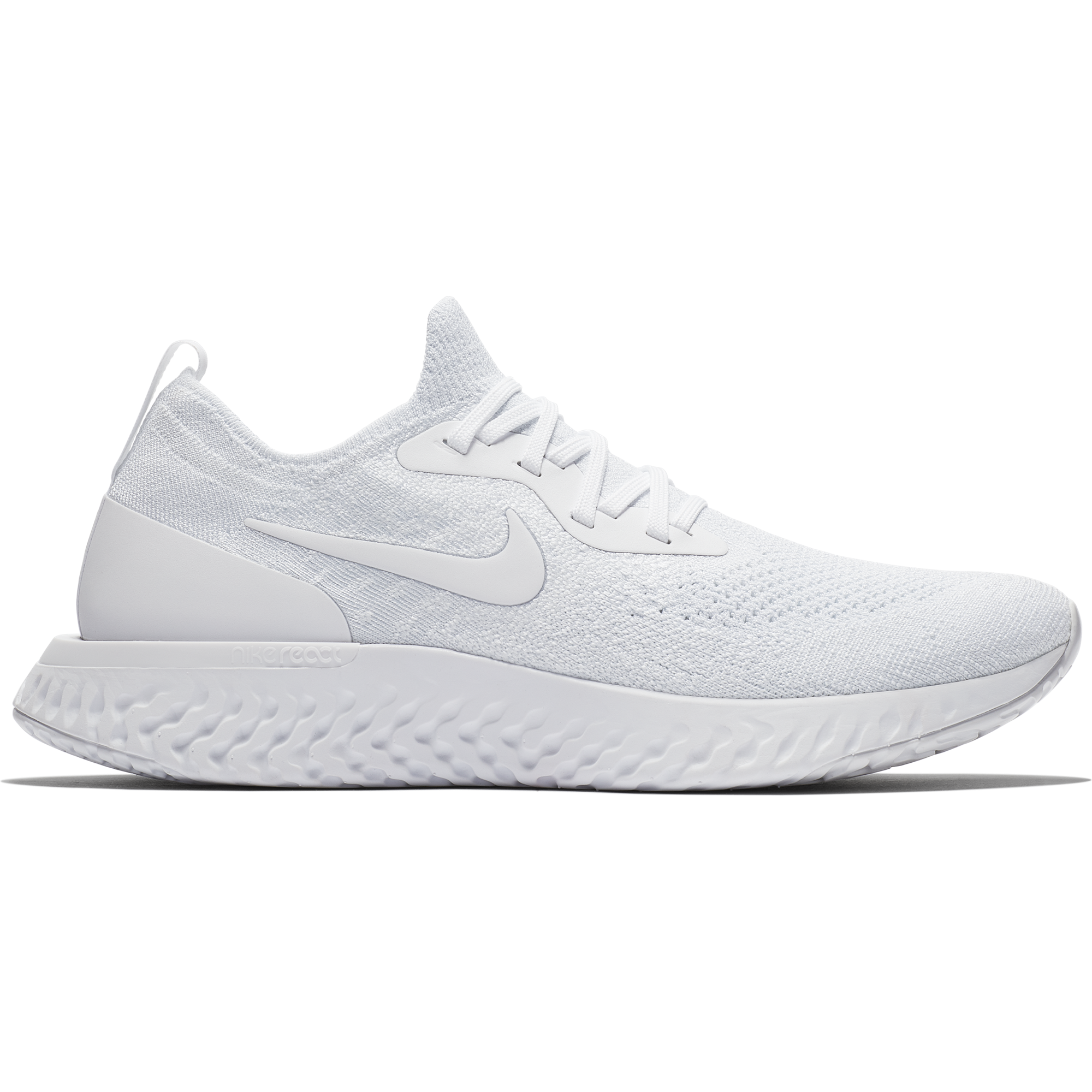 d803dd76f87 Men s Epic React Flyknit Running Shoe - True White White Pure Platinum –  Gazelle Sports