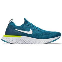 344689cf56f9 Men s Epic React Flyknit Running Shoe - Green Abyss White Blue Force Volt