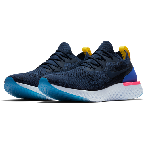 Men's Epic React Flyknit Running Shoe - College Navy/College Navy/Racer Blue