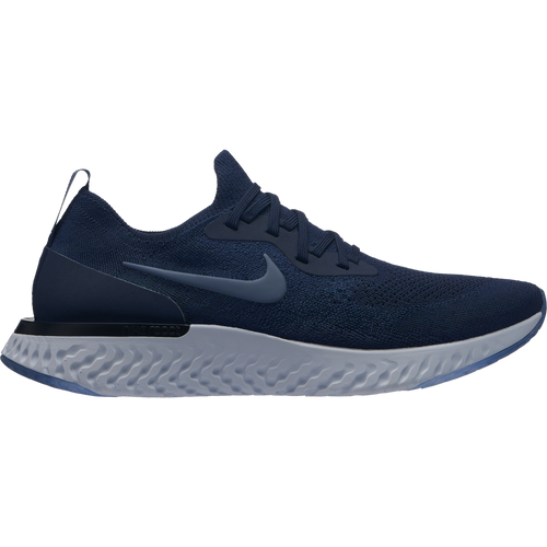 Men's Epic React Flyknit Running Shoe - College Navy/Diffused Blue/Football Grey