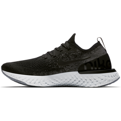 Women's Epic React Flyknit Running Shoe - Black/Dark Grey/Pure Platinum