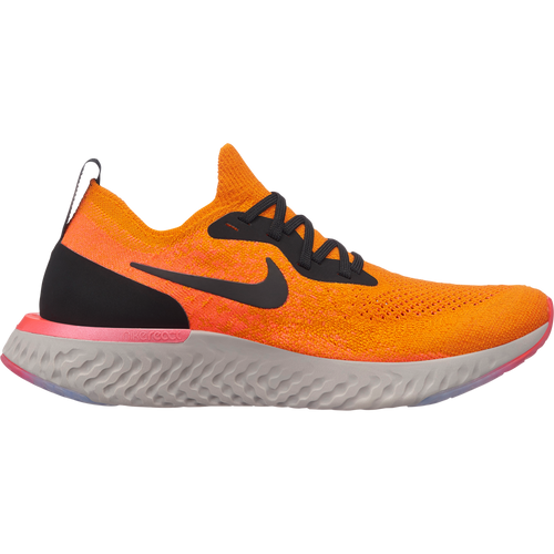 Women's Epic React Flyknit Running Shoe - Copper Flash/Black/Flash Crimson