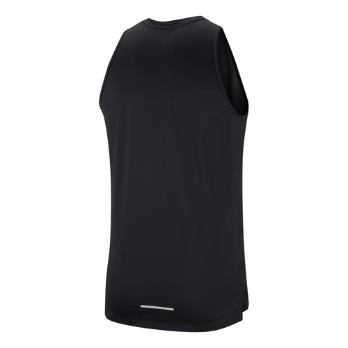 Men's Graphic Running Miler Tank - BLACK