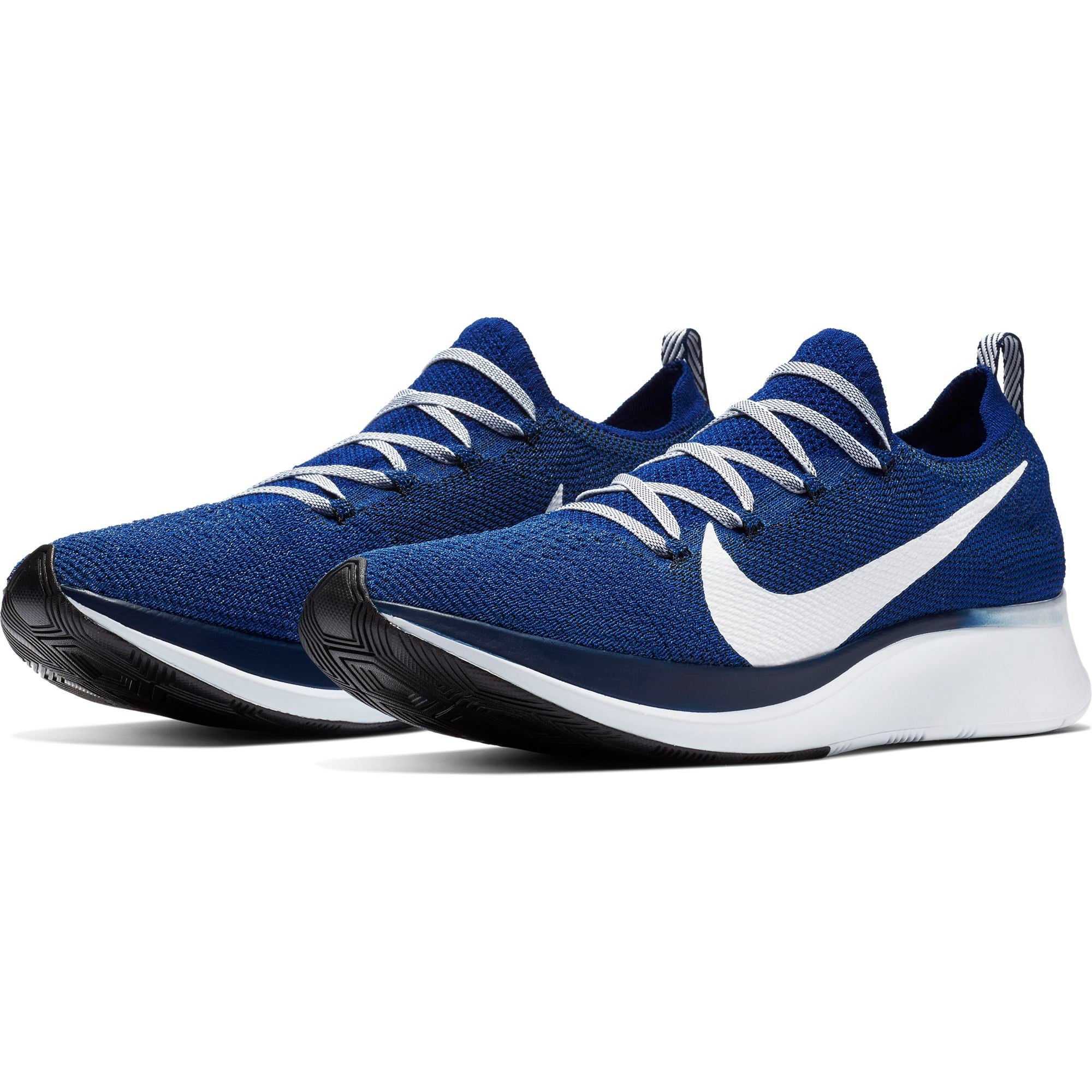 c8a74cb615d ... Men s Zoom Fly Flyknit Running Shoes - Deep Royal Blue Void White ...