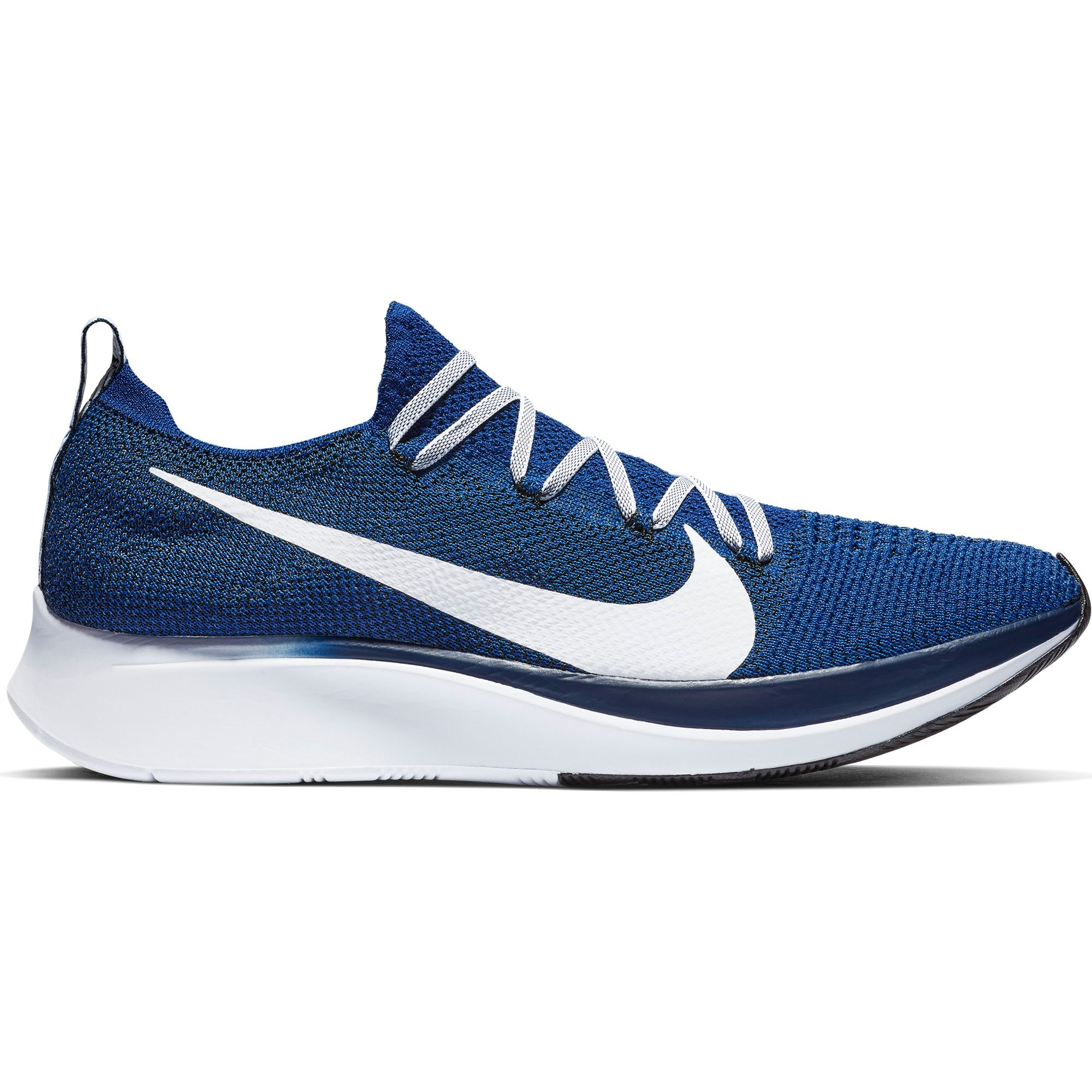 818e25b6b343d Men s Zoom Fly Flyknit Running Shoes - Deep Royal Blue Void White – Gazelle  Sports