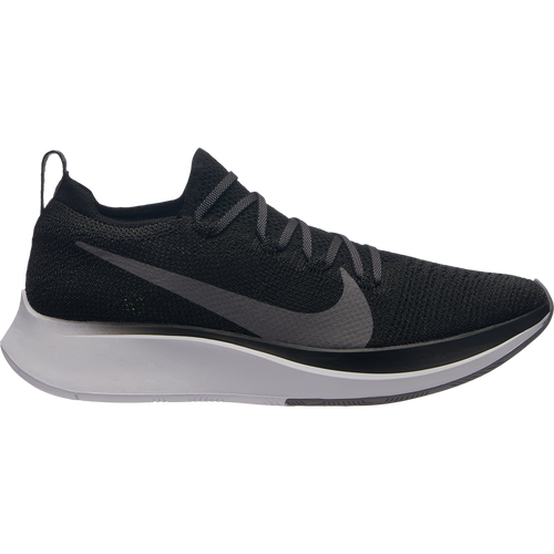 Women's Zoom Fly FlyKnit Running Shoe - Black/Gunsmoke/White