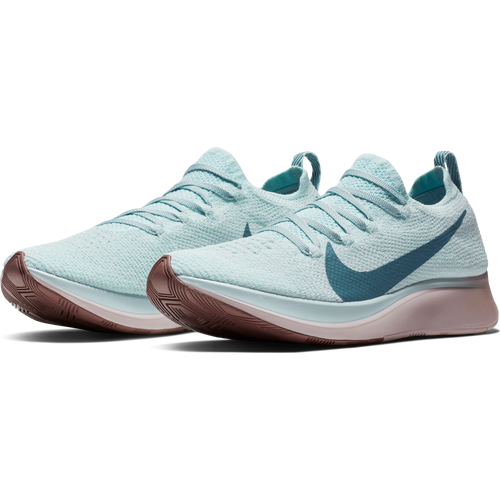 Women's Zoom Fly FlyKnit Running Shoe - Glacier Blue/Celestial Teal/Coastal Blue