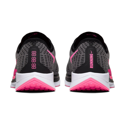 Men's Nike Zoom Pegasus Turbo 2 Running Shoe - Black/Pink Blast/Atmosphere Grey/White