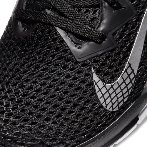 Women's Nike Metcon 6 Cross Training Shoe - Black/Metallic Silver