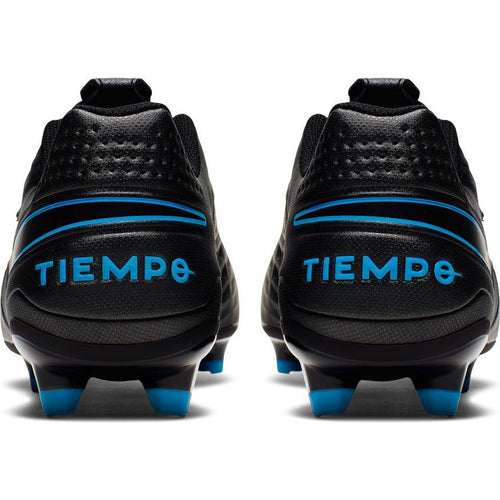 Men's Legend 8 Academy MG/FG Soccer Boots - Black/Black/Blue Hero