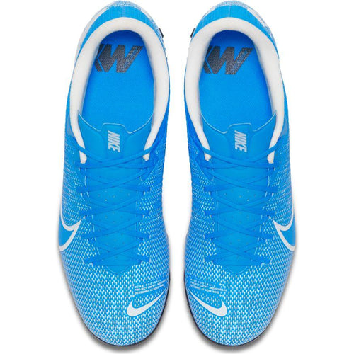 Nike Mercurial Vapor 13 Academy TF Cleat - Blue Hero/White