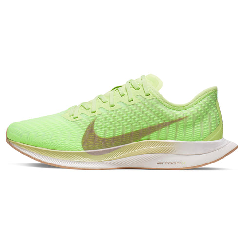 Women's Zoom Pegasus Turbo 2 Running Shoe - Lab Green/Electric Green/Vapor Green/Pumice