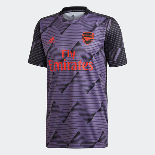 Arsenal 2019/20 Prematch Jersey - Tech Purple/Black