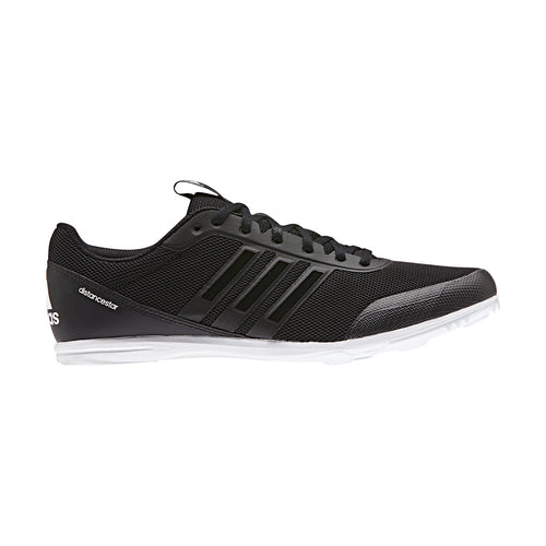 Men's Distancestar Track Spikes - Black/Black/White