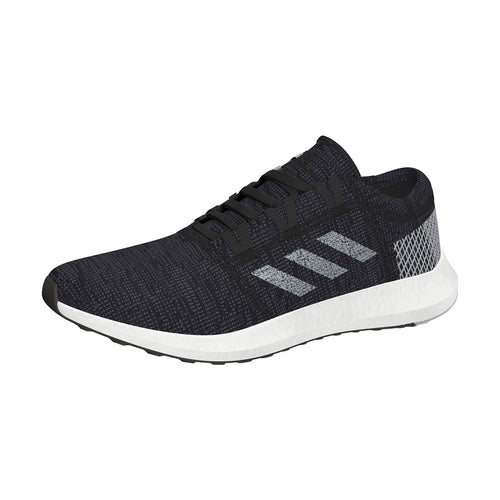 Men's PureBoost GO Running Shoe - Black/Grey/Grey