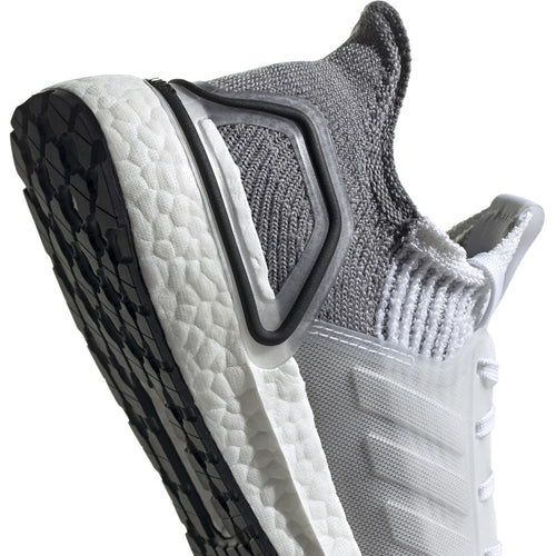 Women's Ultraboost 19 Running Shoe - Cloud White/Crystal White/Grey Two