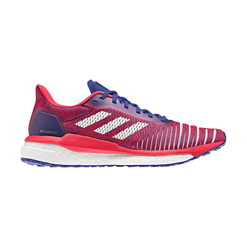 Women's Solar Drive Running Shoe - Blue/White/Red