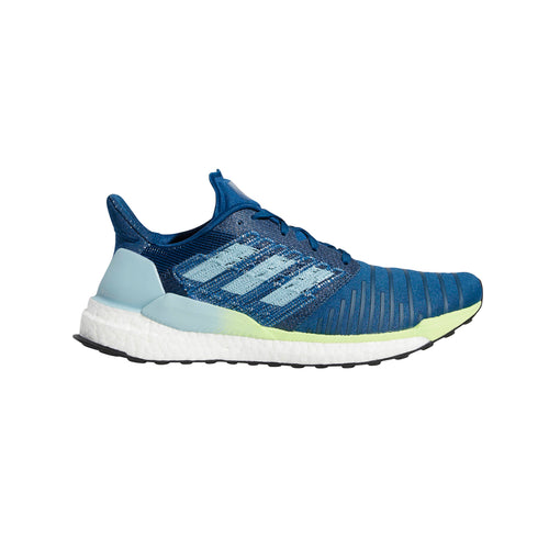Men's Solar Boost Running Shoe - Legend Marine/Ash Grey/Hi-Res Yellow