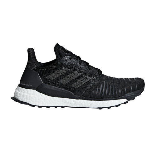 Women's SolarBoost Running Shoe - Core Black/Grey/White