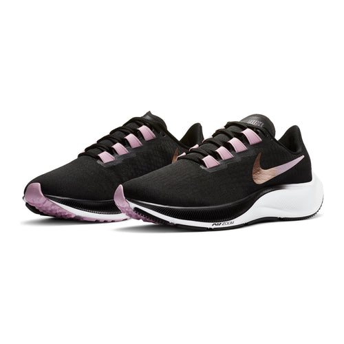 Women's Air Zoom Pegasus 37 Running Shoe - Black/Metallic Red Bronze-Light Arctic Pink
