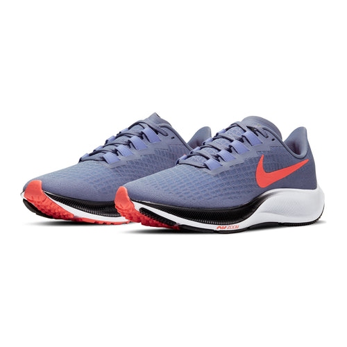 Women's Air Zoom Pegasus 37 Running Shoe - Indigo Haze/Bright Mango-Purple Pulse
