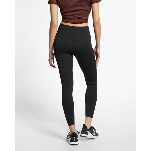 Women's All-In 7/8 Training Tights - Black/Clear