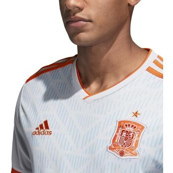 Youth Spain 2018 Away Jersey - Halo Blue/Bright Red