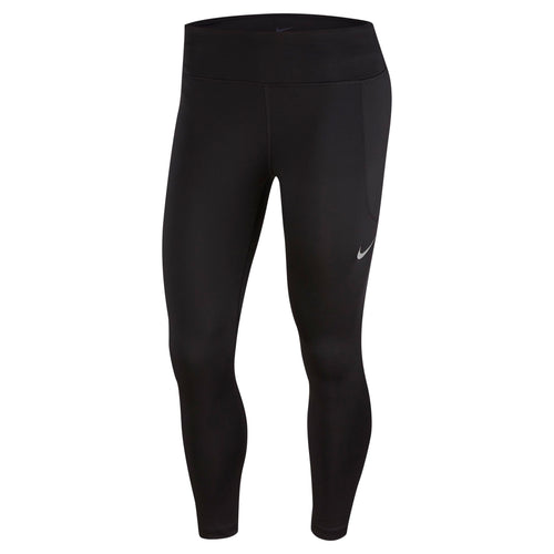 Women's Fast 7/8 Running Tights - Black