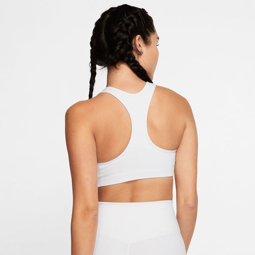 Women's Nike Swoosh Medium-Support Padded Bra - White/Black