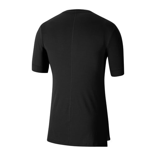 Men's Yoga Drytop Short Sleeve Top - Black / Black