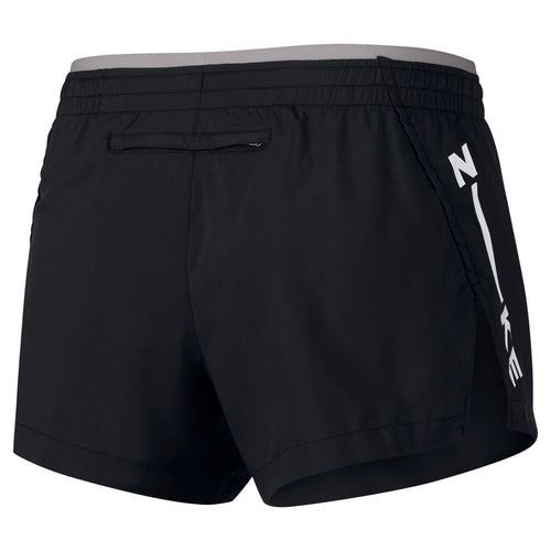 Women's Elevate Track Short GX - Black/Atmosphere Grey/White