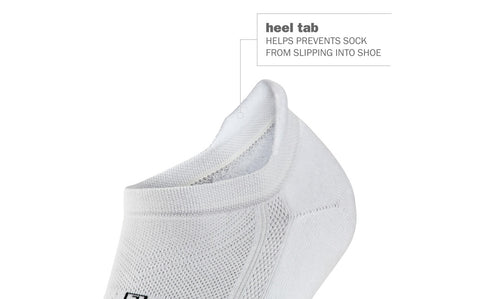 Unisex Hidden Comfort Socks - White