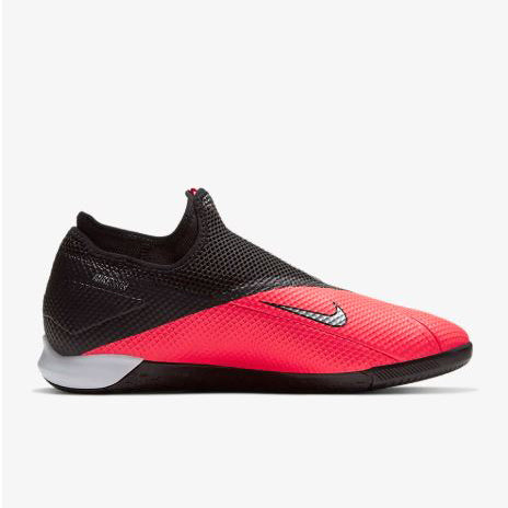Phantom Vision 8 Academy Dynamic Fit IC Soccer Boot - Laser Crimson/Black/Metallic Silver