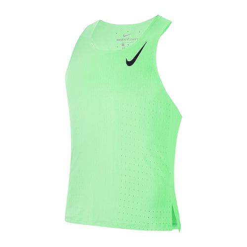 Men's Aeroswift Singlet - Vapor Green/Black