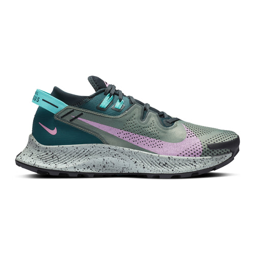 Women's Pegasus Trail 2 (B - Regular) Trail Running Shoe - Seaweed/Beyond Pink-Spiral Sage